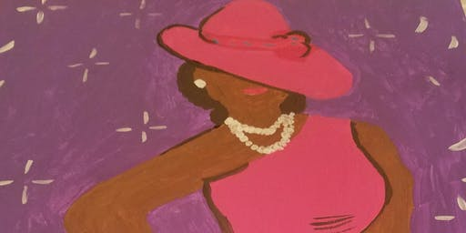 """Phenomenal Woman"" Sip,,Paint and Empower"