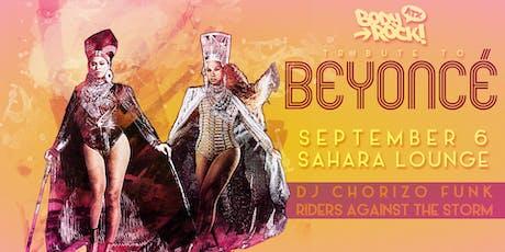 Body Rock ATX: A Tribute to Beyoncé tickets