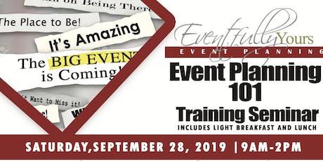 Event Planning 101 Training Seminar  tickets