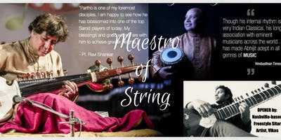 World Music Concert - Maestro of String : Sarod and Tabla