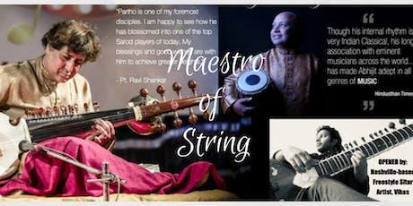 World Music Concert - Maestro of String : Sarod and Tabla tickets