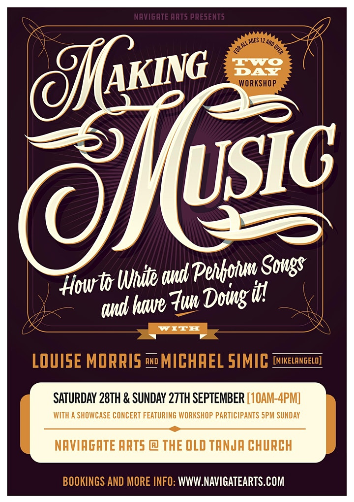 Making Music with Michael Simic and Louise Morris image