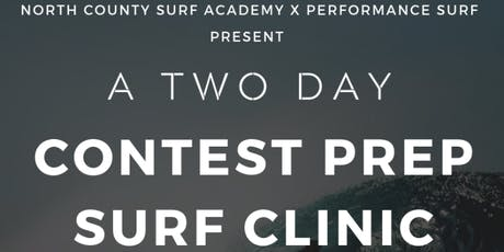 Two Day Contest Prep Surf Clinic tickets