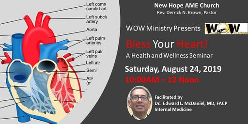 "New Hope"" Bless Your Heart"" Seminar"