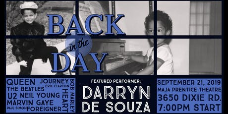 Darryn de Souza - Back in the Day tickets
