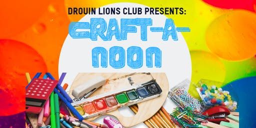 School Holiday Activity- Craft-A-Noon @ Drouin Library