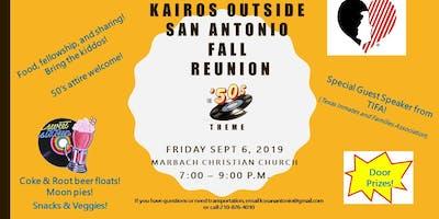 Kairos Outside San Antonio Reunion