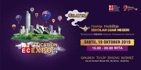 NIEC Education Expo 2019 - Bali tickets