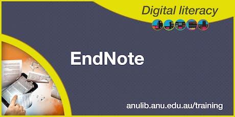 EndNote X9 workshop tickets