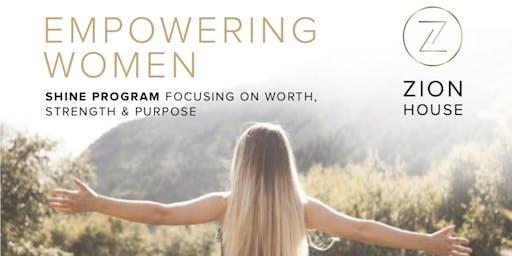 Empowering Women: Shine Program focusing on Worth, Strength, Purpose