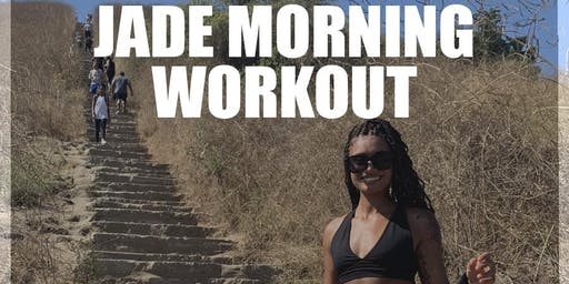 Culver City Stairs with Jade Morning