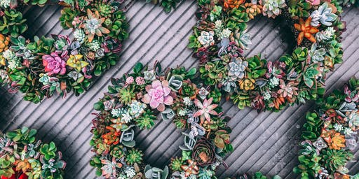 Succulent Wreath Workshop with Sharon