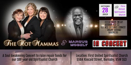 Soul Awakening Concert with The Hot Mammas and Marcus Mosely