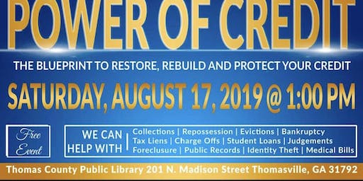 The Power of Credit - Thomasville - Cassandra Moody