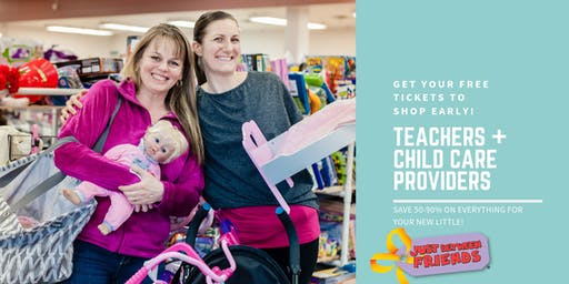 Teacher + Childcare Provider Pre-Sale - JBF Medford Fall 2019