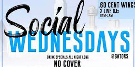 Social Wednesday  tickets