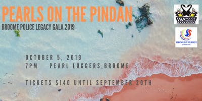 Broome Police Legacy Gala, Pearls on the Pindan 2019