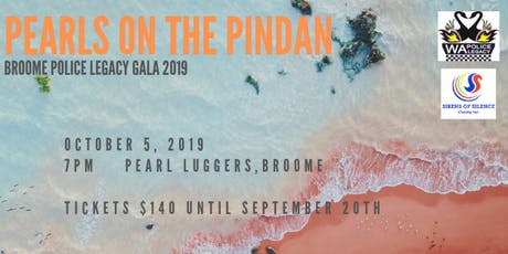 Broome Police Legacy Gala, Pearls on the Pindan 2019 tickets