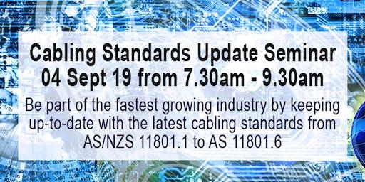 Cabling Standards Update Seminar