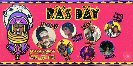 RAS DAY 2019 feat. Leikeli47, Madison McFerrin, The APX, Riders Against the Storm, and more! tickets