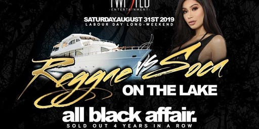 Reggae VS Soca On The Lake | Labor Day Weekend | Saturday Aug 31st