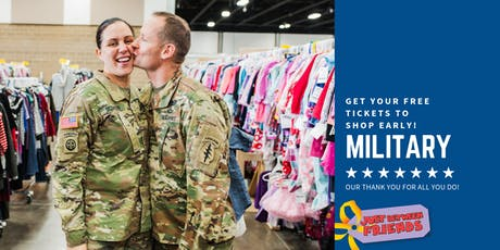 Military Family Pre-Sale - JBF Medford Fall 2019 tickets