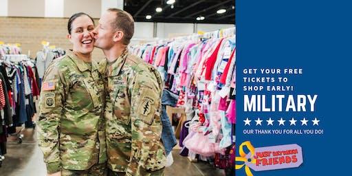 Military Family Pre-Sale - JBF Medford Fall 2019