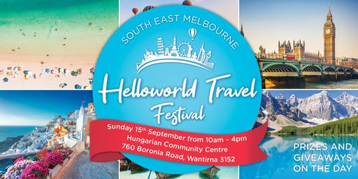 South East Melbourne, Helloworld Travel Festival