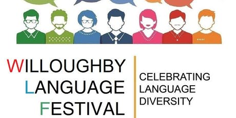 Willoughby Language Festival 2019 tickets