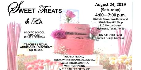 Sweet Treats & Tea tickets