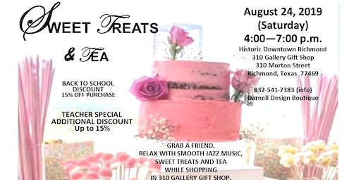 Sweet Treats & Tea