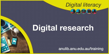 Digital research workshop tickets