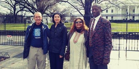 Interfaith Prayer next to the White House tickets