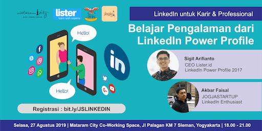 Linkedin untuk Karir & Profesional: Belajar Pengalaman dari LinkedIn Power Profile