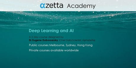 Deep Learning and AI - Hong Kong tickets