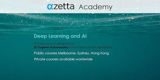 Deep Learning and AI - Hong Kong
