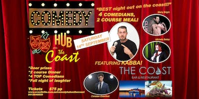 Comedy and Dinner on the Coast