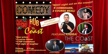 Comedy and Dinner on the Coast tickets