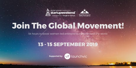 Global Startup Weekend Women | Melbourne tickets