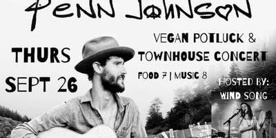 Wind Song Presents: Penn Johnson Townhouse Concert & Potluck