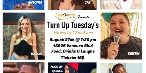 Turn Up Tuesday's Comedy Show