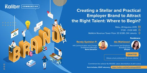 KALIBRR COMMUNITIES: EXCLUSIVE GATHERING FOR HR PROFESSIONAL IN JAKARTA!