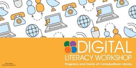 Digital Literacy Workshop - Simple Photo Editing tickets
