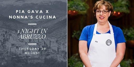1 Night in Abruzzo Dinner with Pia Gava