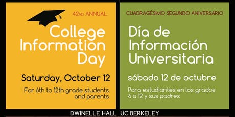 42nd Annual College Information Day tickets