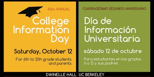 42nd Annual College Information Day
