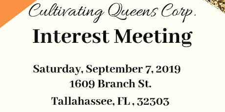 Cultivating Queens Interest Meeting tickets