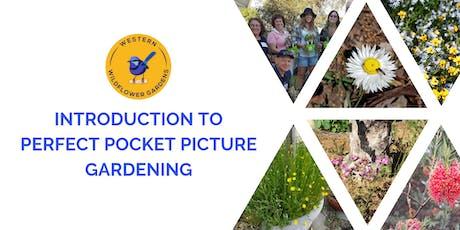 Verge Garden Designs - Perfect Pocket Picture Gardening tickets