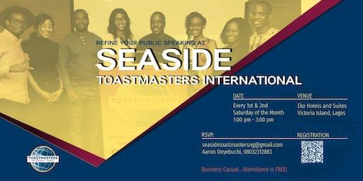 Seaside Toastmasters Club Meeting
