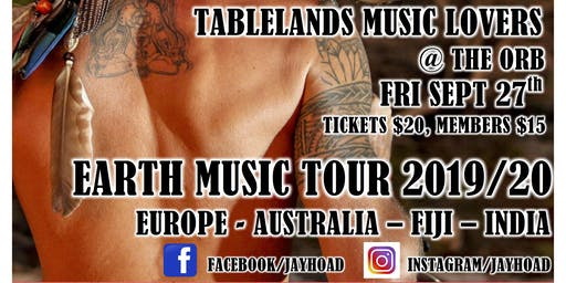 Jay Hoad live @ Tablelands Music Lovers